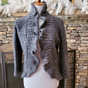 Ruby Rd. Gray Cardigan Size: PL